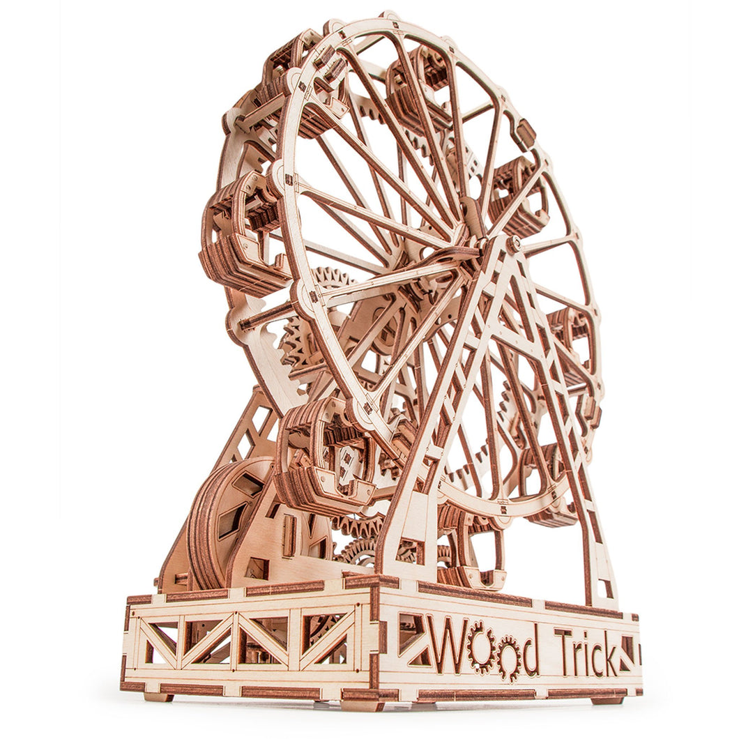 Ferris Wheel ~ Wooden Model/Puzzle Kit