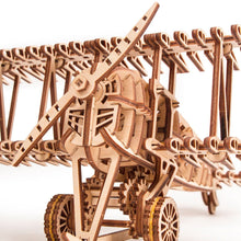 Load image into Gallery viewer, Plane ~ Wooden Model/Puzzle Kit