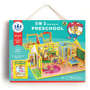 DW's First Day of Preschool Book & Playset