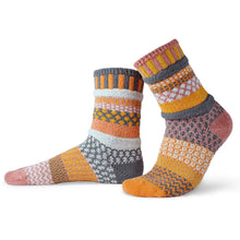 Load image into Gallery viewer, Solmate Socks: Buckwheat Adult Crew