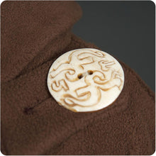 Load image into Gallery viewer, Olive Country Jacket with Carved Bone Buttons