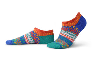 Solmate Socks: Cayenne Adult Ankle
