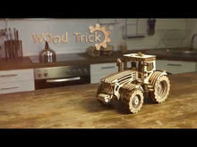Load and play video in Gallery viewer, Tractor ~ Wooden Model/Puzzle Kit