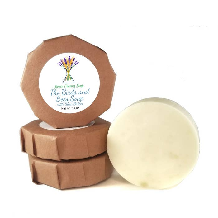 Natural Body Soap with Shea Butter