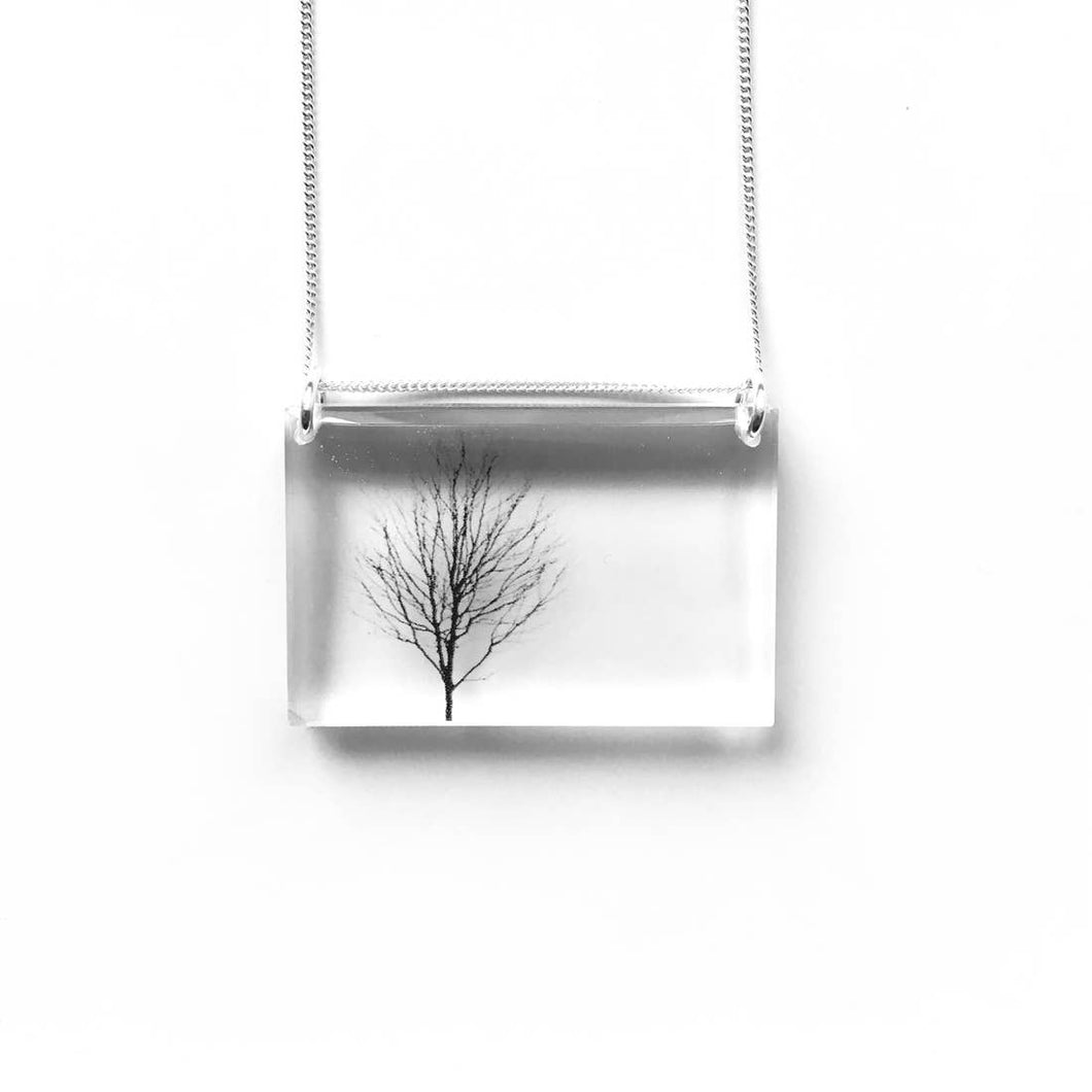 Side Tree Necklace