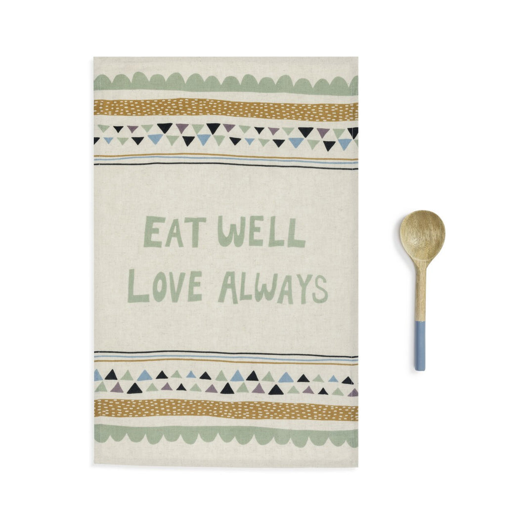 Kitchen Towel & Utensil: Eat Well