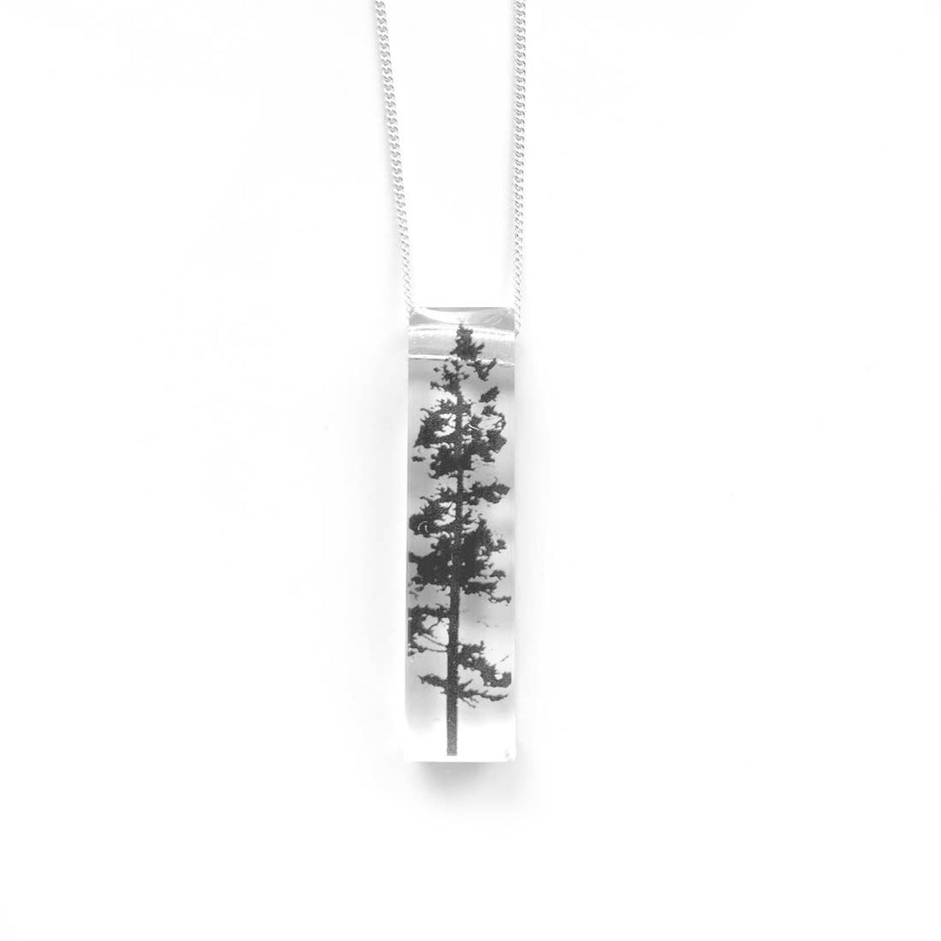 Skinny Forest Necklace