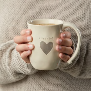 Mug: Thankful Heart