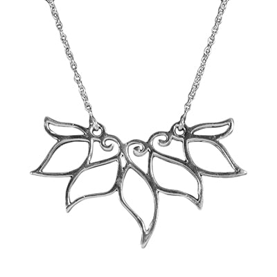 Lotus Petal Necklace