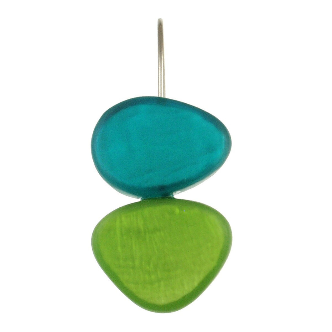 Assorted 2-Tone Resin Earrings