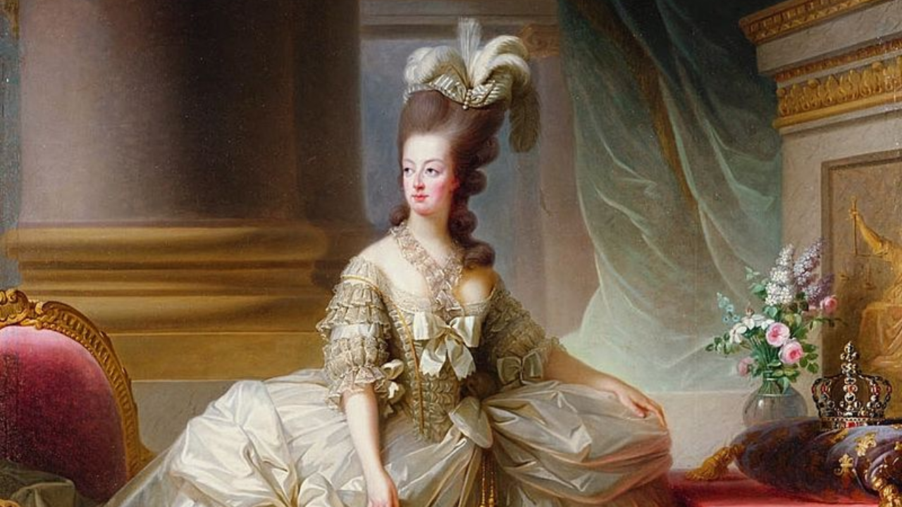 Portrait of Marie-Antionette