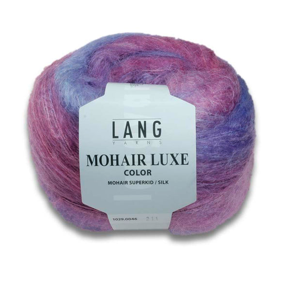 Lang Yarns Mohair Luxe Color