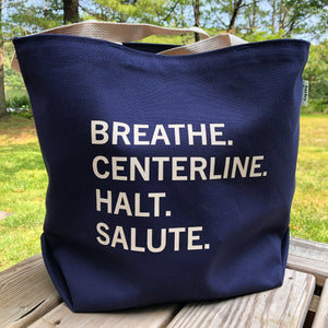 Centerline Tote - natural or navy