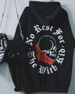 No Rest Washed Hoodie