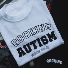 Load image into Gallery viewer, Rocking Autism Preppy T-Shirt