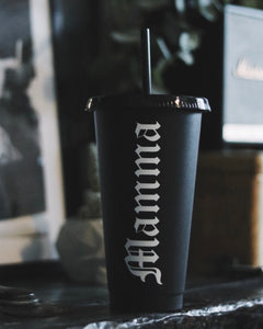 Mamma Black 24oz Cold Cup