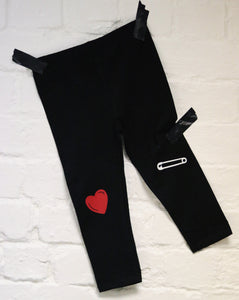 Heart+Pin Leggings