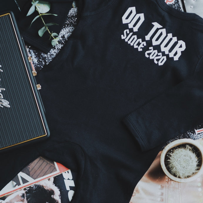 On Tour Footless Romper