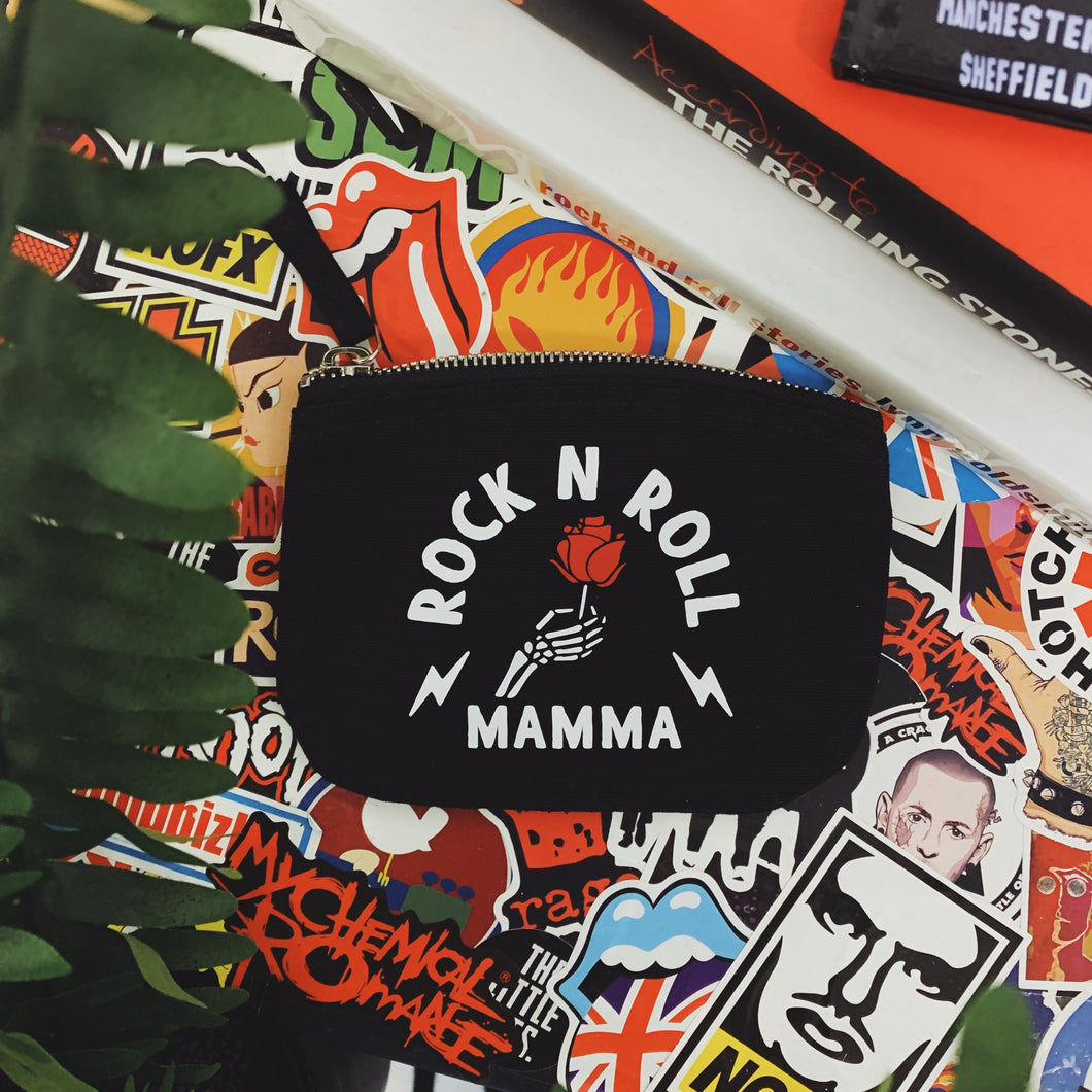 Rock n Roll Mamma Mini Pouch