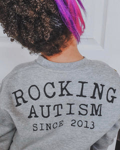 Rocking Autism Sweater
