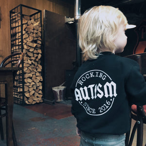 Rocking Autism Logo Sweater