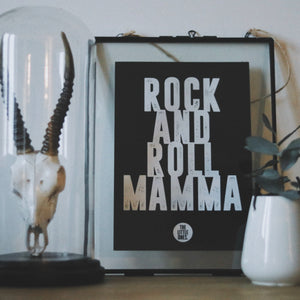 Rock and roll Mamma Print