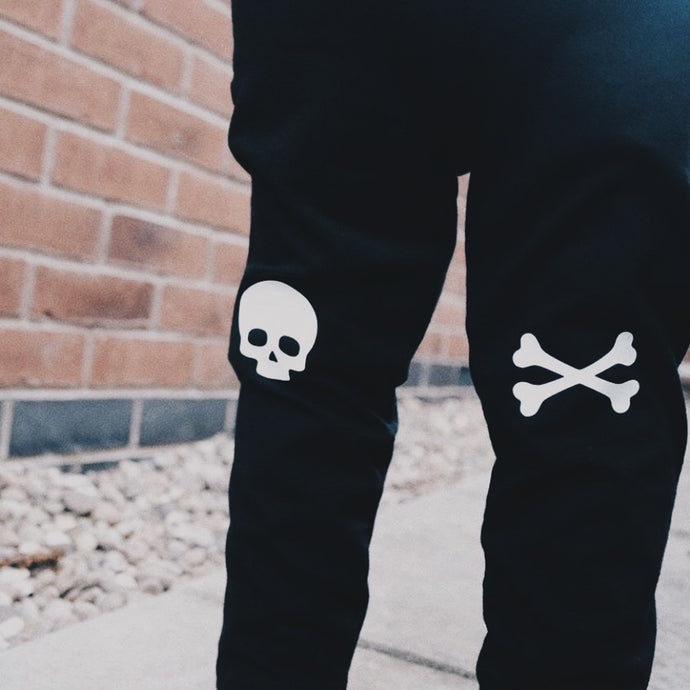 Skull and Cross Bone Leggings