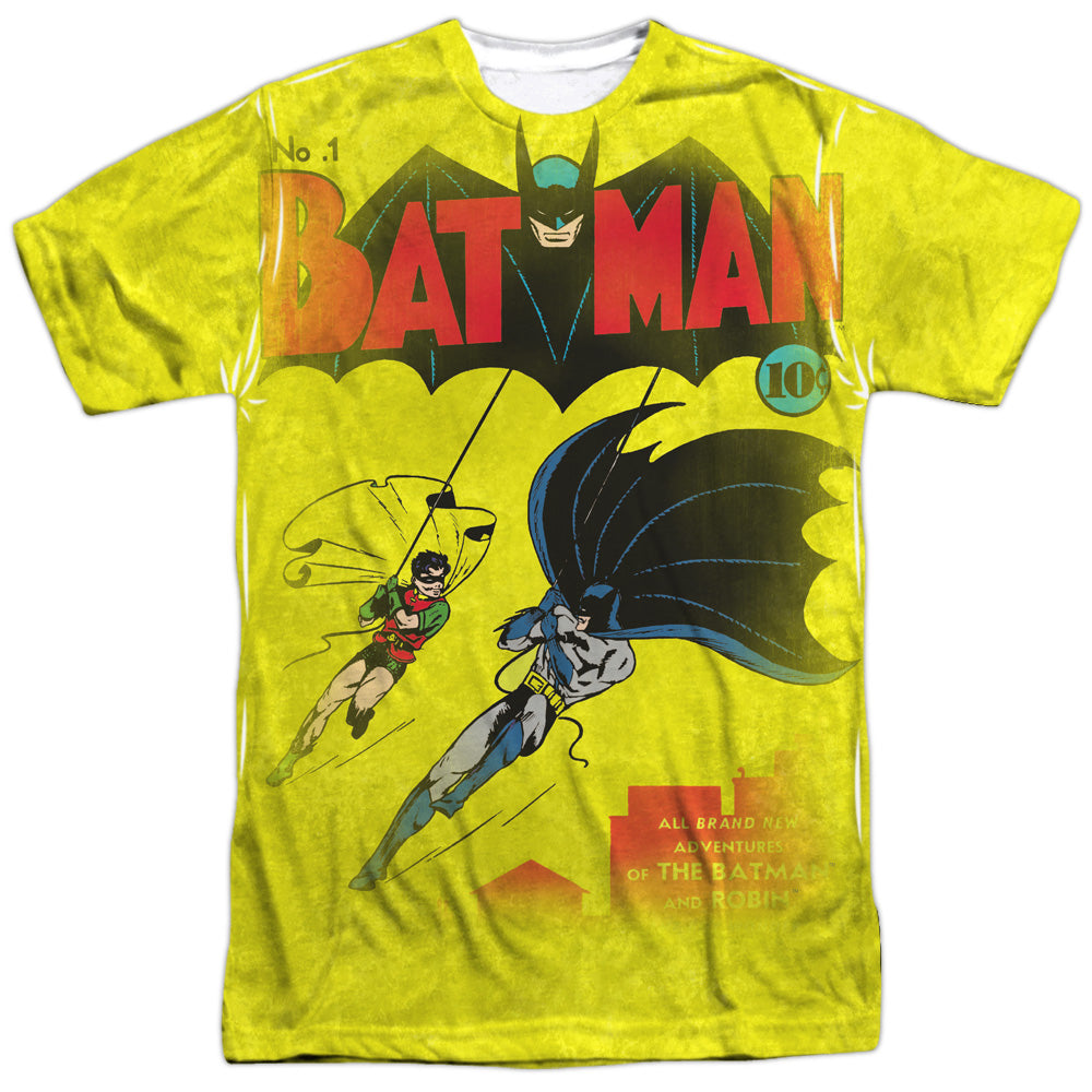 Dc - Batman Number One S/S Adult Poly Crew