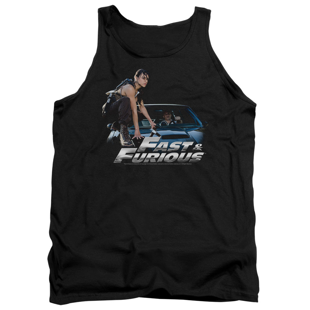 Fast And The Furious - Car Ride Adult Tank