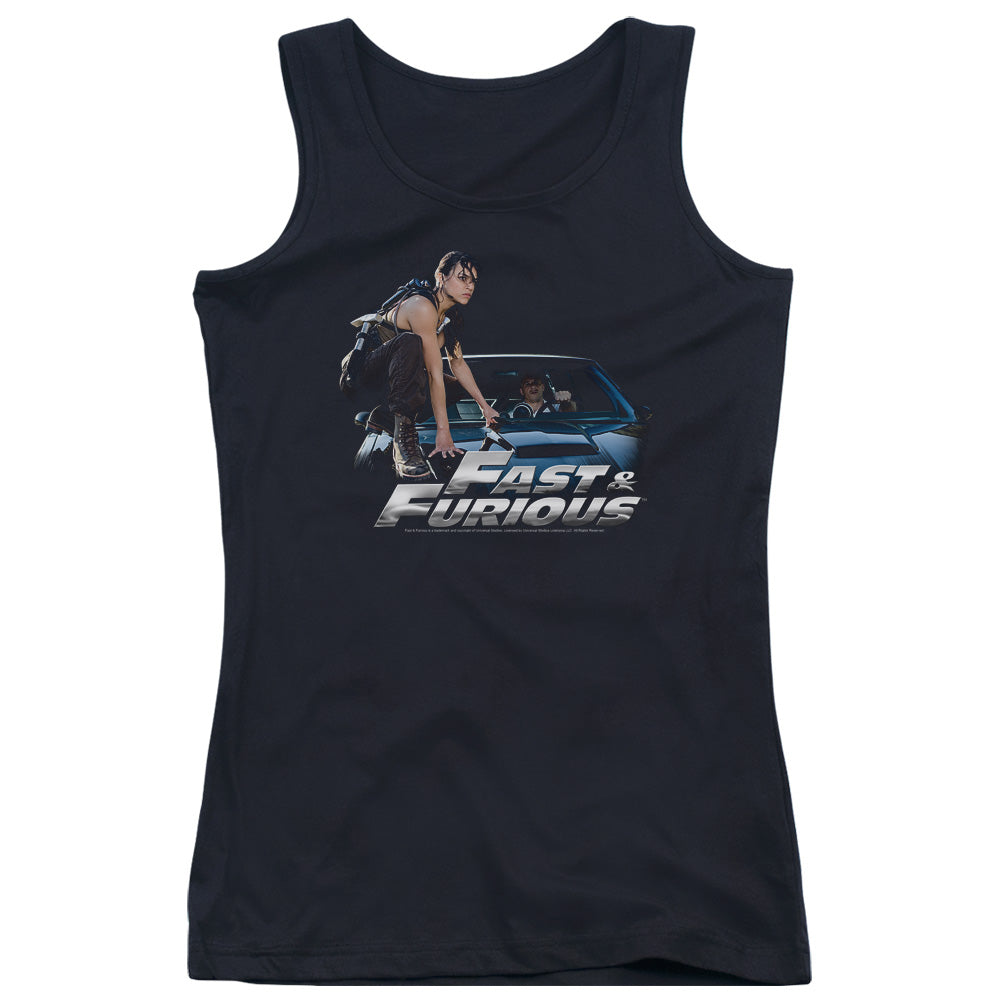 Fast And The Furious - Car Ride Juniors Tank Top