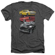 Load image into Gallery viewer, Fast And The Furious - Muscle Car Splatter Adult Heather