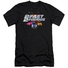 Load image into Gallery viewer, 2 Fast 2 Furious - Logo Short Sleeve Adult 30/1