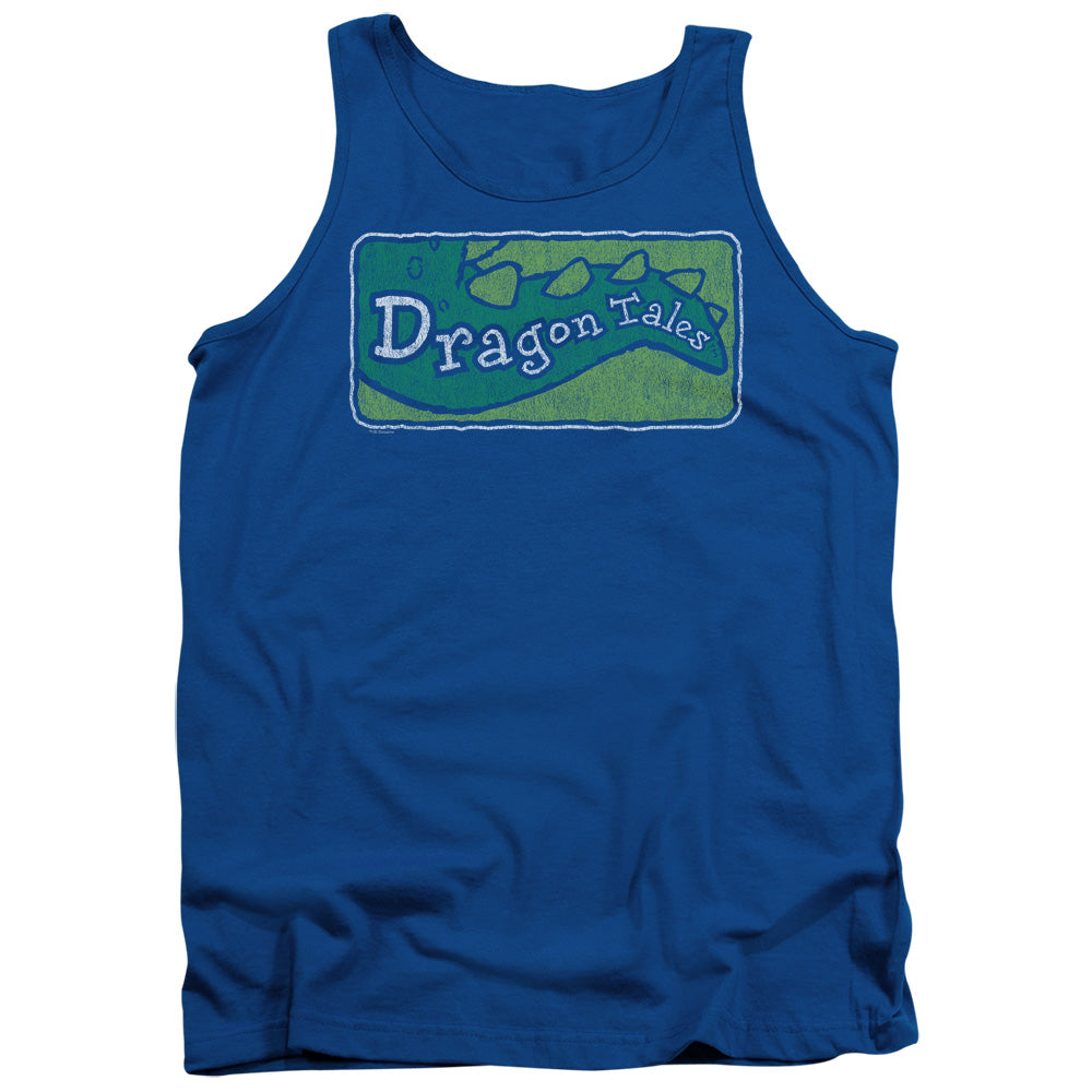 Dragon Tales - Logo Distressed Adult Tank