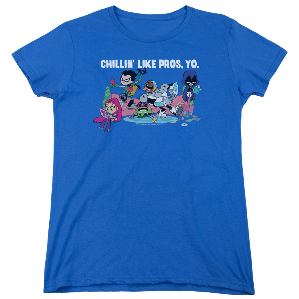 Teen Titans Go - Like Pros Yo Short Sleeve Women's Tee