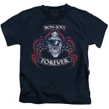 Load image into Gallery viewer, Bon Jovi - Forever Skull Short Sleeve Juvenile 18/1