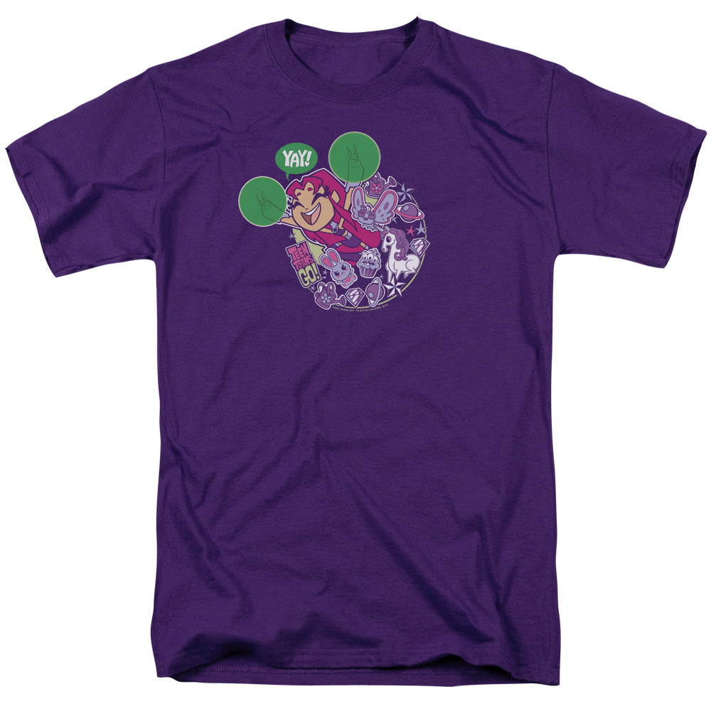Teen Titans Go - Yay Short Sleeve Adult 18/1