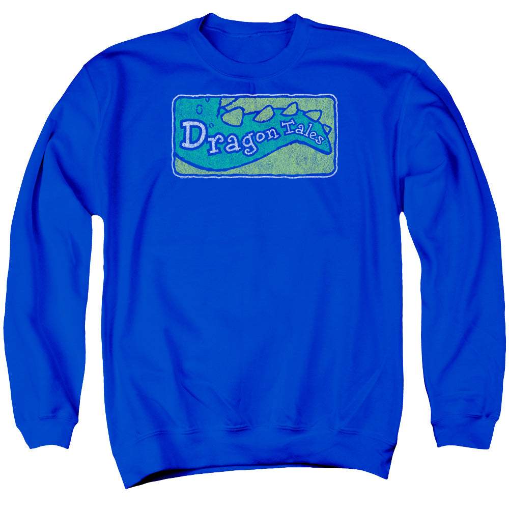 Dragon Tales - Logo Distressed Adult Crewneck Sweatshirt