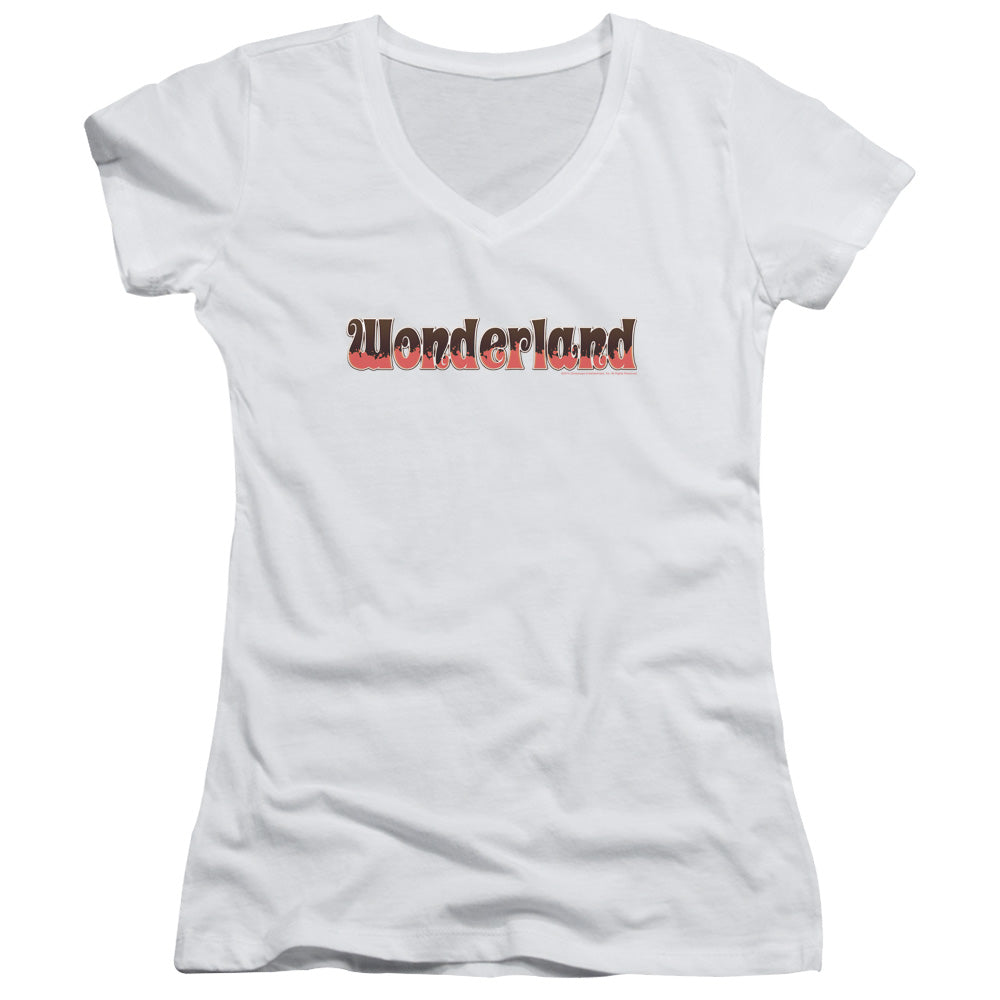 Zenoscope - Wonderland Logo Junior V Neck