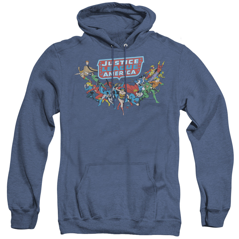 Dc - Here They Come Adult Pull Over Hoodie