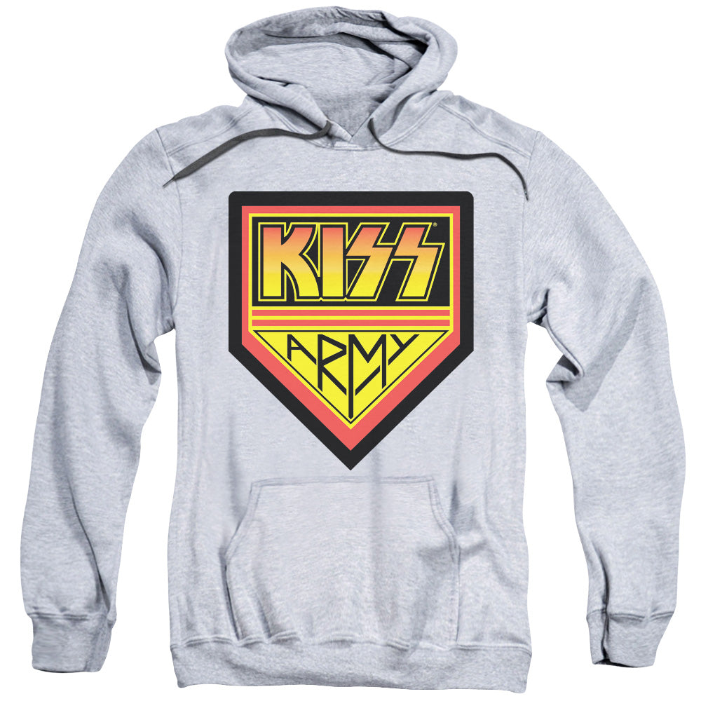 Kiss - Army Logo Adult Pull Over Hoodie