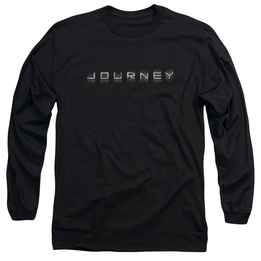 Journey - Repeat Logo Long Sleeve Adult 18/1