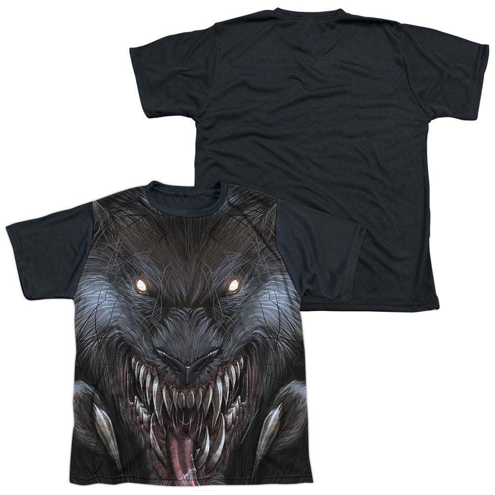 Zenoscope - Werewolf S/S Youth White Front Black Back