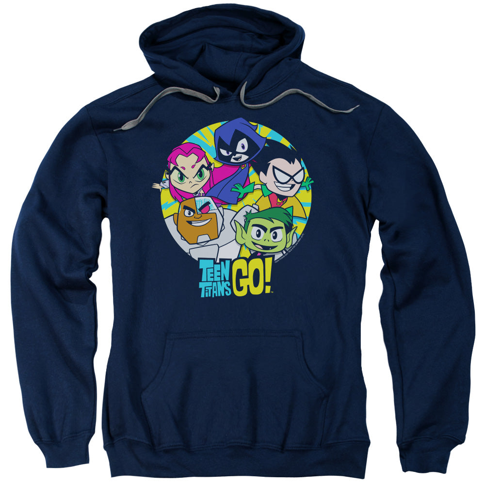 Teen Titans Go - Go Go Group Adult Pull Over Hoodie