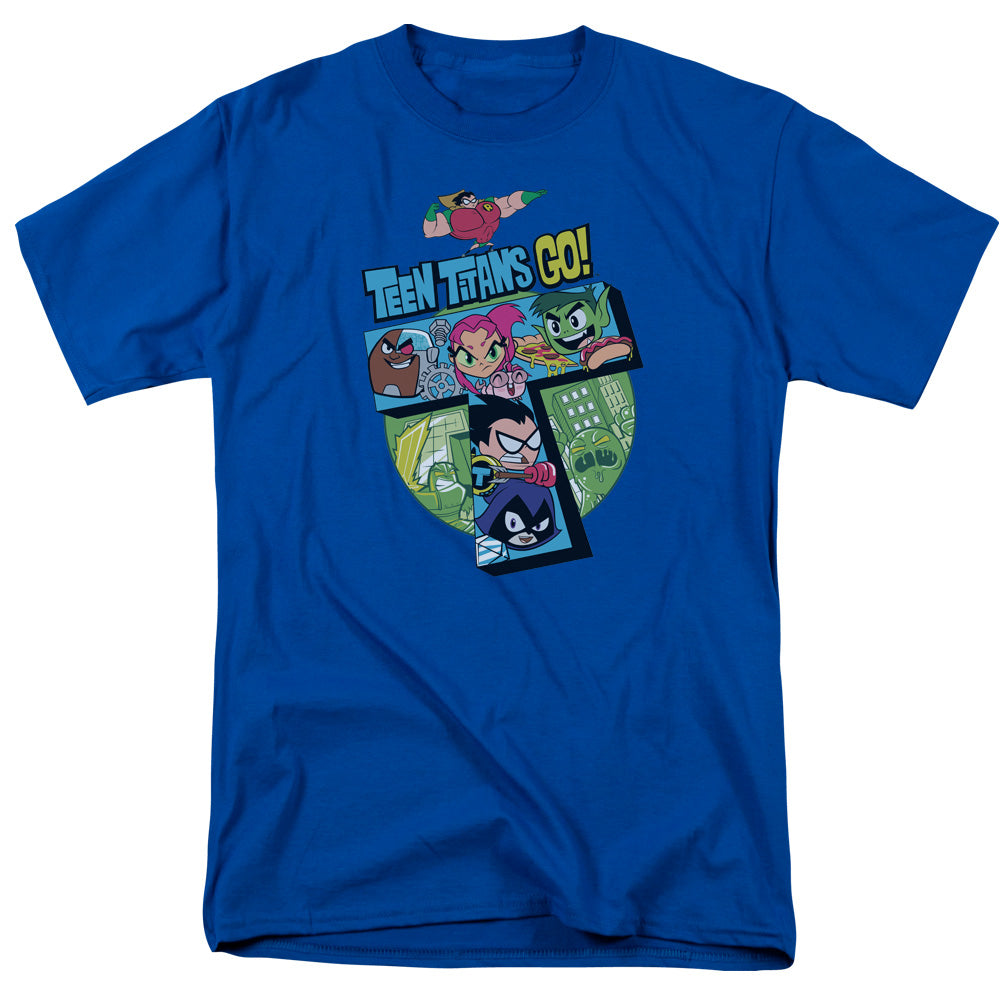 Teen Titans Go - T Short Sleeve Adult 18/1