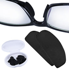 Load image into Gallery viewer, Setex GeckoGrip® - Black Eyewear Nose Pads with PSA Backing