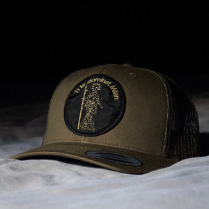 "Malnatt Snapback "" Ti te dominet Milan "" Military Green"