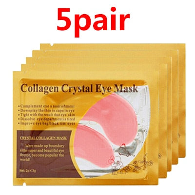 efero Anti-Aging Gold Mask Face Masks Crystal Collagen Eye Mask Eye Patches Under the Eye Mask Dark Circle Anti-Puffiness Cream