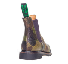 Laden Sie das Bild in den Galerie-Viewer, Solovair Camouflage Punched Dealer Boot