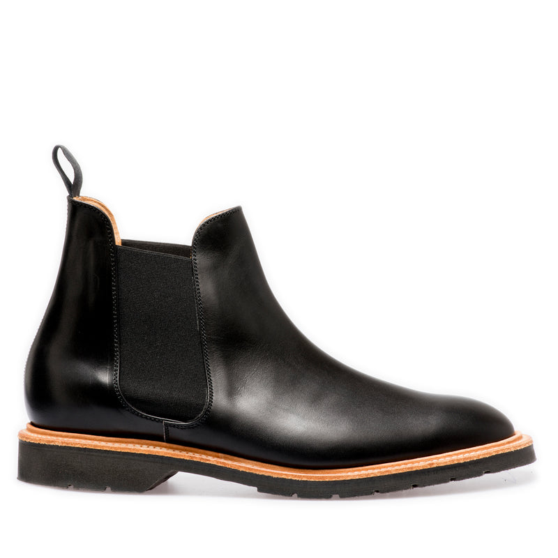 Solovair Chelsea Boot Black