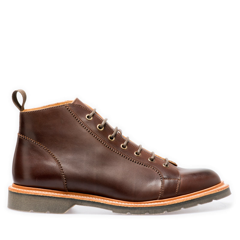 Solovair Ebony Monkey Boot